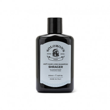 Solomon's Beard Shampoo per capelli - Shampoo Anti Hair Loss Shrager 200 ml