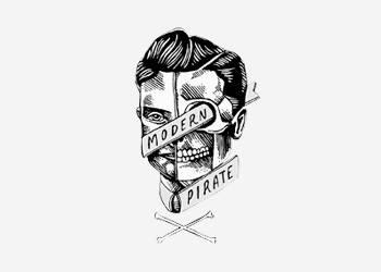 Logo Modern Pirate